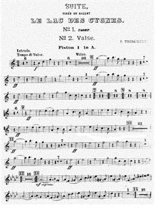 Версия A: Партия первого корнета by Петр Чайковский