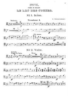 Версия A: Партия первого тромбона by Петр Чайковский