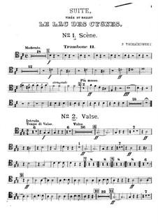 Версия A: Партия второго тромбона by Петр Чайковский