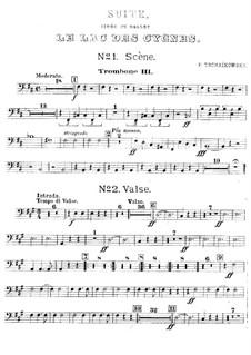 Версия A: Партия третьего тромбона by Петр Чайковский