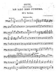 Версия A: Партия виолончелей by Петр Чайковский