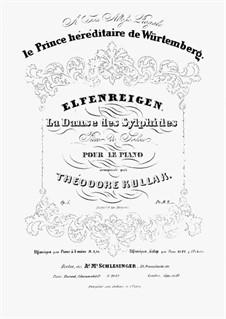 Elfenreigen. Pièce de Salon, Op.5: Elfenreigen. Pièce de Salon by Теодор Куллак
