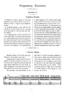 Школа игры октавами, Op.48: Band I Vorschule by Теодор Куллак