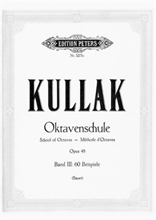 Школа игры октавами, Op.48: Band III Beispiele by Теодор Куллак
