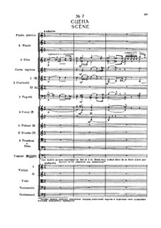 Фрагменты: Действие I, No.7 Сцена by Петр Чайковский