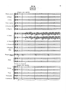 Фрагменты: Действие II, No.14 Сцена by Петр Чайковский