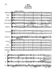 Фрагменты: Действие II, No.18 Антракт by Петр Чайковский