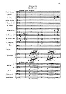 Фрагменты: Действие III. Апофеоз by Петр Чайковский