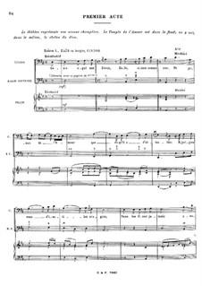 Zaïs, RCT 60: Акт I by Жан-Филипп Рамо