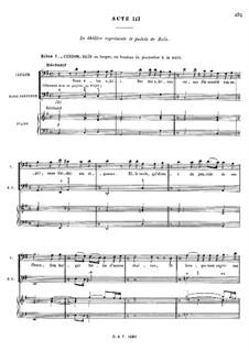 Zaïs, RCT 60: Акт III by Жан-Филипп Рамо