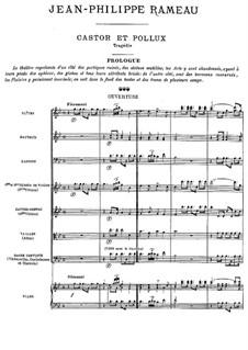 Вся опера: Увертюра by Жан-Филипп Рамо