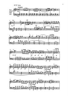 Arie Belmonte Nr.17 'Ich baue glanz auf deine Stärke...': Für Stimme und Klavier by Вольфганг Амадей Моцарт