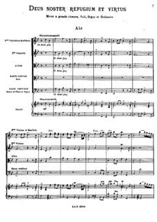 Deus noster refugium et virtus, RCT 13: No.1-5 by Жан-Филипп Рамо