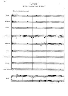 Ипполит и Арисия, RCT 43: Акт II by Жан-Филипп Рамо