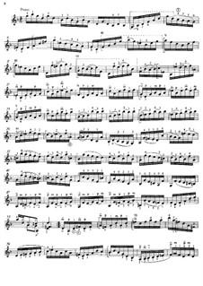 Соната для скрипки No.1 соль минор, BWV 1001: Movement IV (Presto), for guitar by Иоганн Себастьян Бах