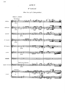 Ипполит и Арисия, RCT 43: Акт V by Жан-Филипп Рамо