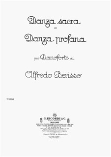 Danza Sacra and Danza Profana: Danza Sacra and Danza Profana by Alfredo Berisso