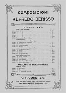 Impressioni: Seconda Serie, No.IV 'Il gatto ed il topo' by Alfredo Berisso