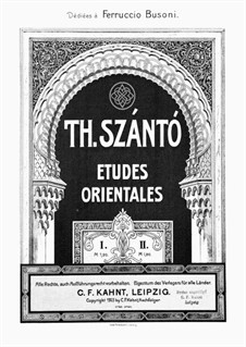 Два этюда, Op.1: Этюд No.1 by Тивадар Санто