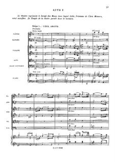 Храм славы, RCT 59: Акт I by Жан-Филипп Рамо