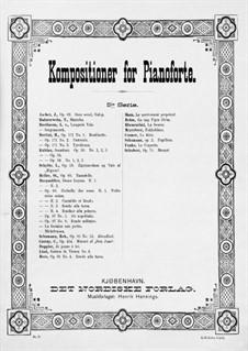 Le Mouvement Perpetuel, Op.91 No.3: Le Mouvement Perpetuel by Анри Герц