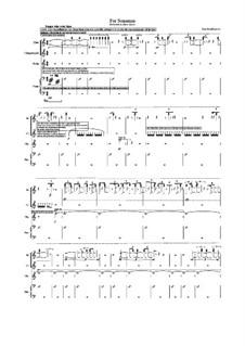 For Sonemus: For Sonemus by Dino Residbegovic