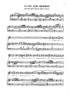 Arsilda regina di Ponto: Aria 'Io son quel gelsomino' by Антонио Вивальди