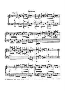 Шесть вариаций на тему BACH, Op.10: No.5-6 by Николай Римский-Корсаков