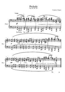 No.20 до минор: Для фортепиано by Фредерик Шопен