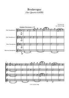 Boulavogue: For sax quartet AATB by Patrick Joseph McCall