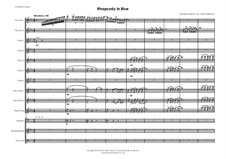Рапсодия в стиле блюз: For flute choir by Джордж Гершвин