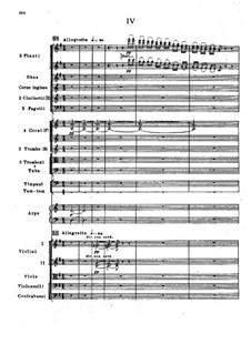 Симфония No.2 фа-диез минор 'Антар', Op.9: Часть IV, второй вариант by Николай Римский-Корсаков