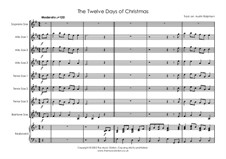 The Twelve Days of Christmas: For sax ensemble by folklore