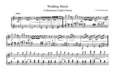 Свадебный марш: Для фортепиано by Феликс Мендельсон-Бартольди