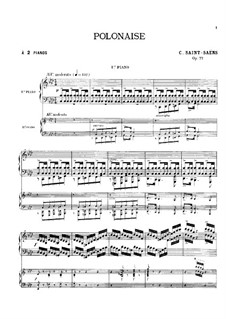 Полонез, Op.77: Полонез by Камиль Сен-Санс