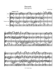 Pastorale: For wind quartet by Jordan Grigg
