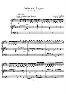 Три прелюдии и фуги, Op.99: No.2 си мажор by Камиль Сен-Санс