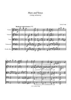 Mars and Venus (string orchestra): Mars and Venus (string orchestra) by Jordan Grigg