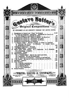 Три концертные пьесы: No.2 Романс by Густав Заттер
