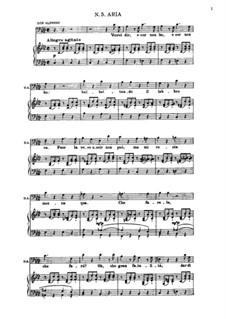 Aria di Don Alfonso 'Vorrei dir, e cor non ho': Для голоса и фортепиано by Вольфганг Амадей Моцарт