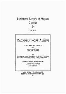 Фантастические пьесы, Op.3: No.2 Prélude by Сергей Рахманинов
