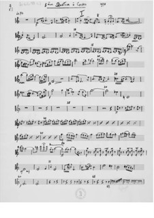 Струнный квартет No.5: Партии by Эрнст Леви
