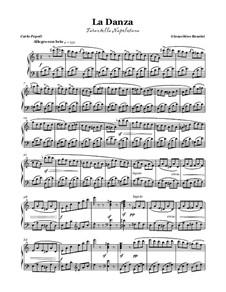 Неаполитанская тарантелла: Для голоса и фортепиано by Джоаккино Россини