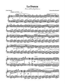Неаполитанская тарантелла: Для голоса и фортепиано (G minor) by Джоаккино Россини