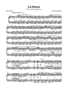 Неаполитанская тарантелла: Для голоса и фортепиано (F minor) by Джоаккино Россини