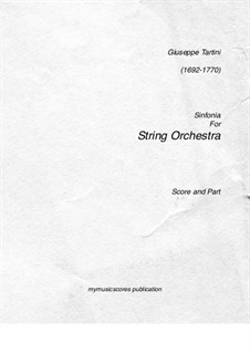 Sinfonia: Sinfonia by Джузеппе Тартини