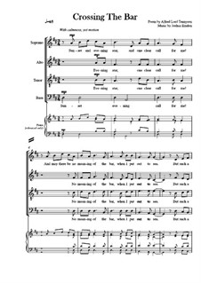 Three British Song Settings: Crossing The Bar by Joshua Emdon