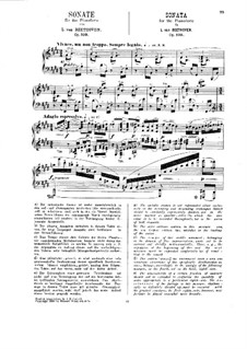 Соната для фортепиано No.30, Op.109: Для одного исполнителя (под редакцией Г. Бюлова) by Людвиг ван Бетховен