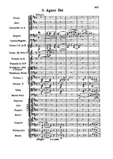Missa Solemnis, Op.123: Agnus Dei by Людвиг ван Бетховен