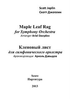 Maple Leaf Rag: Второе издание (на страницах A3) by Скотт Джоплин